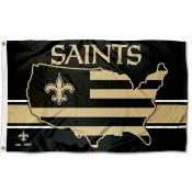New Orleans Saints USA Country Flag