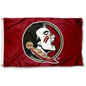 New Seminole Logo Flag for FSU