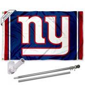 New York Giants Flag Pole and Bracket Kit