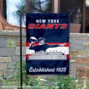 New York Giants Throwback Logo Double Sided Garden Flag Flag
