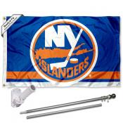 New York Islanders Flag Pole and Bracket Kit