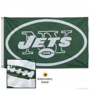 New York Jets Embroidered Nylon Flag