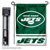 New York Jets Garden Banner and Flag Stand