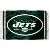New York Jets Logo Flag