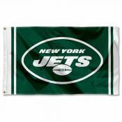 New York Jets Wordmark Flag