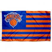 New York Knicks Americana Stripes Nation Flag
