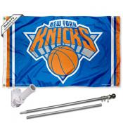New York Knicks Flag Pole and Bracket Kit