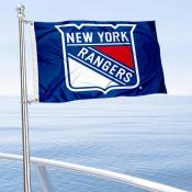 New York Rangers Boat and Nautical Flag