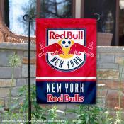 New York Red Bull Garden Flag