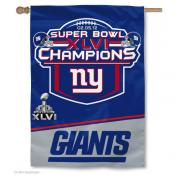 New York Super Bowl Champions House Flag