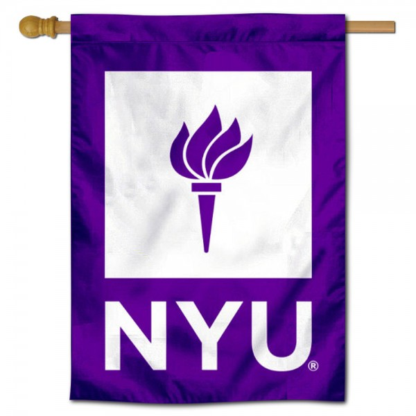 New York Violets Double Sided Banner is a vertical house flag which measures 28x40 inches, is made of 2 ply 100% nylon, offers screen printed NCAA team insignias, and has a top pole sleeve to hang vertically. Our New York Violets Double Sided Banner is officially licensed by the selected university and the NCAA.