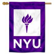 New York Violets Double Sided Banner