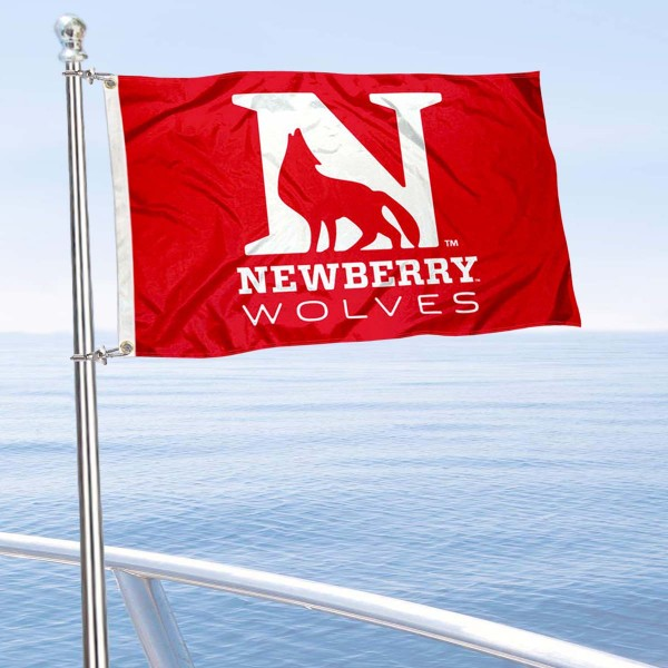 Newberry College Boat and Mini Flag is 12x18 inches, polyester, offers quadruple stitched flyends for durability, has two metal grommets, and is double sided. Our mini flags for Newberry College are licensed by the university and NCAA and can be used as a boat flag, motorcycle flag, golf cart flag, or ATV flag.