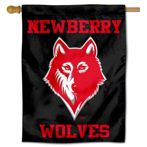 Newberry College Double Sided House Flag is a vertical house flag which measures 30x40 inches, is made of 2 ply 100% polyester, offers screen printed NCAA team insignias, and has a top pole sleeve to hang vertically. Our Newberry College Double Sided House Flag is officially licensed by the selected university and the NCAA.