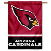 NFL Arizona Cardinals Two Sided House Banner