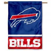 NFL Buffalo Bills Two Sided House Banner