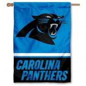 NFL Carolina Panthers Two Sided House Banner