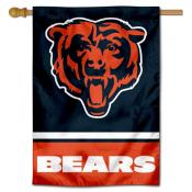 NFL Chicago Bears Two Sided House Banner