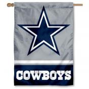 NFL Dallas Cowboys Two Sided House Banner