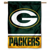 NFL Green Bay Packers Two Sided House Banner
