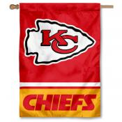 NFL Kansas City Chiefs Two Sided House Banner