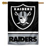 NFL Las Vegas Raiders Two Sided House Banner