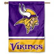 NFL Minnesota Vikings Two Sided House Banner