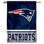 NFL New England Patriots Two Sided House Banner