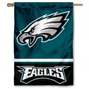 NFL Philadelphia Eagles Two Sided House Banner