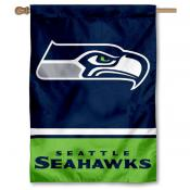 NFL Seattle Seahawks Two Sided House Banner