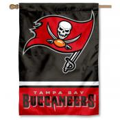 NFL Tampa Bay Buccaneers Two Sided House Banner