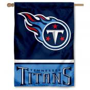 NFL Tennessee Titans Two Sided House Banner