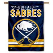 NHL Buffalo Sabres Two Sided House Banner