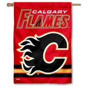 NHL Calgary Flames Two Sided House Banner