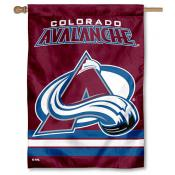 NHL Colorado Avalanche Two Sided House Banner