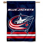 NHL Columbus Blue Jackets Two Sided House Banner