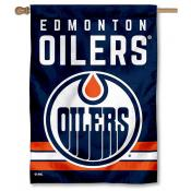 NHL Edmonton Oilers Two Sided House Banner
