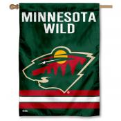 NHL Minnesota Wild Two Sided House Banner