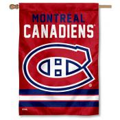 NHL Montreal Canadiens Two Sided House Banner