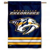 NHL Nashville Predators Two Sided House Banner