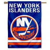 NHL New York Islanders Two Sided House Banner