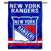 NHL New York Rangers Two Sided House Banner