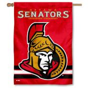 NHL Ottawa Senators Two Sided House Banner