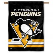 NHL Pittsburgh Penguins Two Sided House Banner
