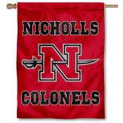 Nicholls State Colonels Banner Flag