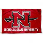 Nicholls State University  Flag