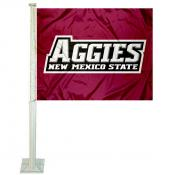 NMSU Aggies Car Window Flag