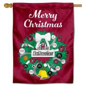 NMSU Aggies Happy Holidays Banner Flag