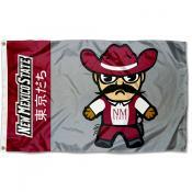 NMSU Aggies Kawaii Tokyodachi Yuru Kyara Flag