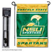 Norfolk State Spartans Garden Flag and Pole Stand Holder